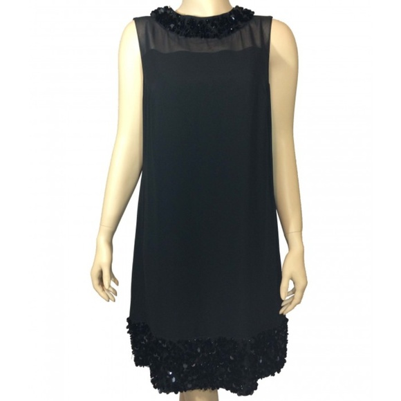 enjoy free shipping cheap for discount price reduced Black Contemporary Cocktail Dress NWT